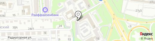 Невод на карте Липецка