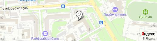 Персонал Строй на карте Липецка