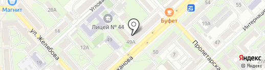 Shokunin на карте Липецка