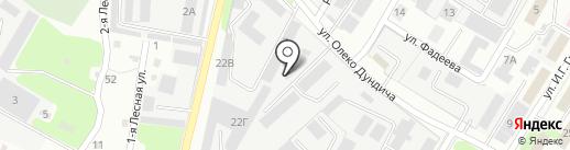 Кузнечная мастерская на карте Липецка