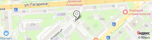 Честь имею на карте Липецка
