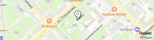 Pandora на карте Липецка