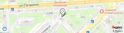 Капленко О.В. на карте Липецка