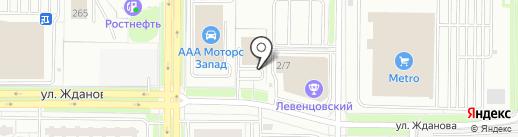 Живые Напитки на карте Ростова-на-Дону