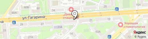 Автодок на карте Липецка