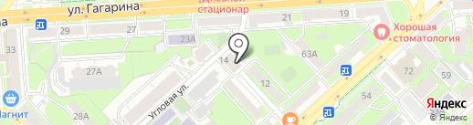 ЗАГС Правобережного округа на карте Липецка