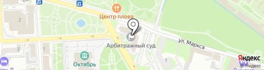 Арбитражный суд Липецкой области на карте Липецка