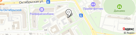 Проектстройинформ на карте Липецка