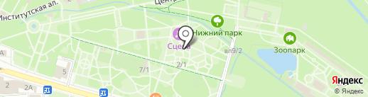 Тесто на карте Липецка