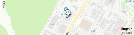 АрКис на карте Липецка