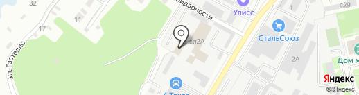 Мега-Трейд на карте Липецка