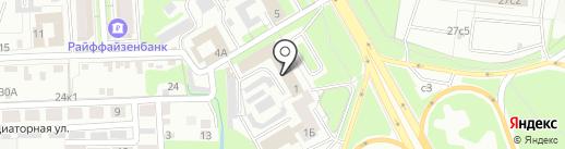 Оникс на карте Липецка