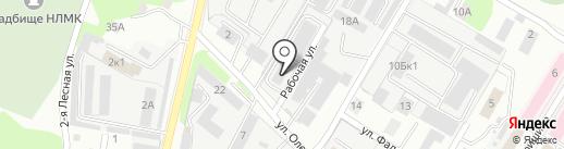 СпецСталь на карте Липецка