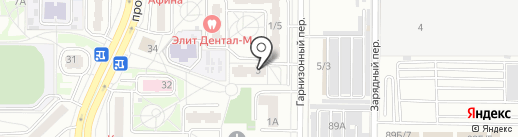Сейко на карте Ростова-на-Дону