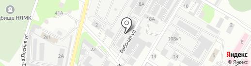 АвтоТехОсмотр на карте Липецка