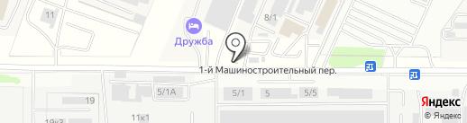 Активстрой на карте Ростова-на-Дону