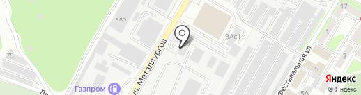 Стройтех-ПСН на карте Липецка