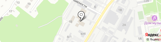 ТИСИЗ Липецк на карте Липецка