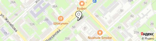 ДентАль на карте Липецка