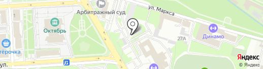 Кара-Кум на карте Липецка