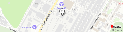 ТехосмотрЛипецк на карте Липецка