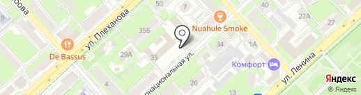 Информационный центр на карте Липецка