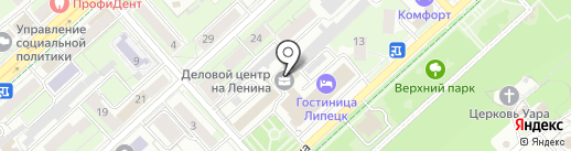 Эксперт-Агро на карте Липецка