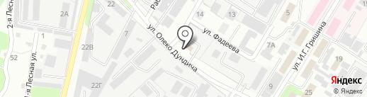 Строительно-монтажное управление-Липецк на карте Липецка