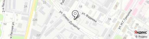 ЦентрСтальКонструкция на карте Липецка