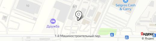 АКЗ Системы на карте Ростова-на-Дону