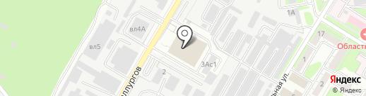 Магазин строительных и отделочных материалов на карте Липецка