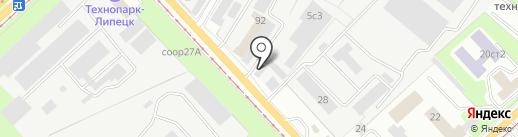 ПаркАвто на карте Липецка