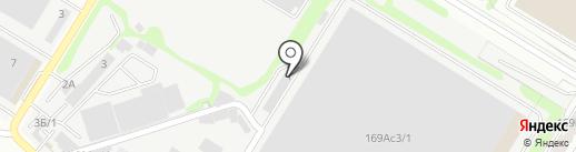 Авто-Пэк на карте Ростова-на-Дону