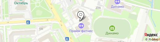 КВС РУС на карте Липецка