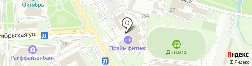 Липецкий центр экспертиз на карте Липецка