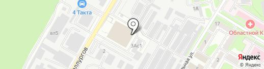Mercedes Service на карте Липецка