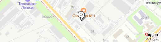 Промэлектромонтаж на карте Липецка