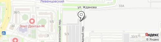 КРАФТ-ТУРБО на карте Ростова-на-Дону