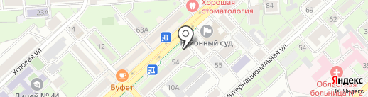 Ивановский текстиль на карте Липецка