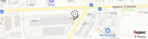 Два Ома на карте Ростова-на-Дону