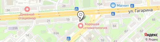 Центрально-Черноземный банк Сбербанка России на карте Липецка