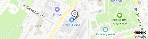 Липецкий Завод Кованых Изделий на карте Липецка