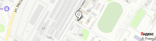 АБВ ДИЗАЙН на карте Липецка