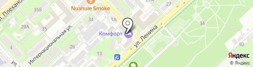 ENERCOM на карте Липецка