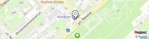 Дизайн-студия на карте Липецка