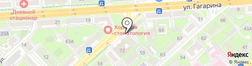 Мастерская по ремонту часов на карте Липецка