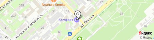 Городская энергосбытовая компания на карте Липецка