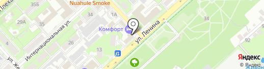 Липецкая биллинговая компания на карте Липецка