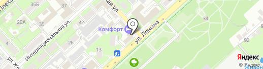 KEUNE на карте Липецка