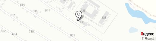 Следственный изолятор №1 на карте Липецка